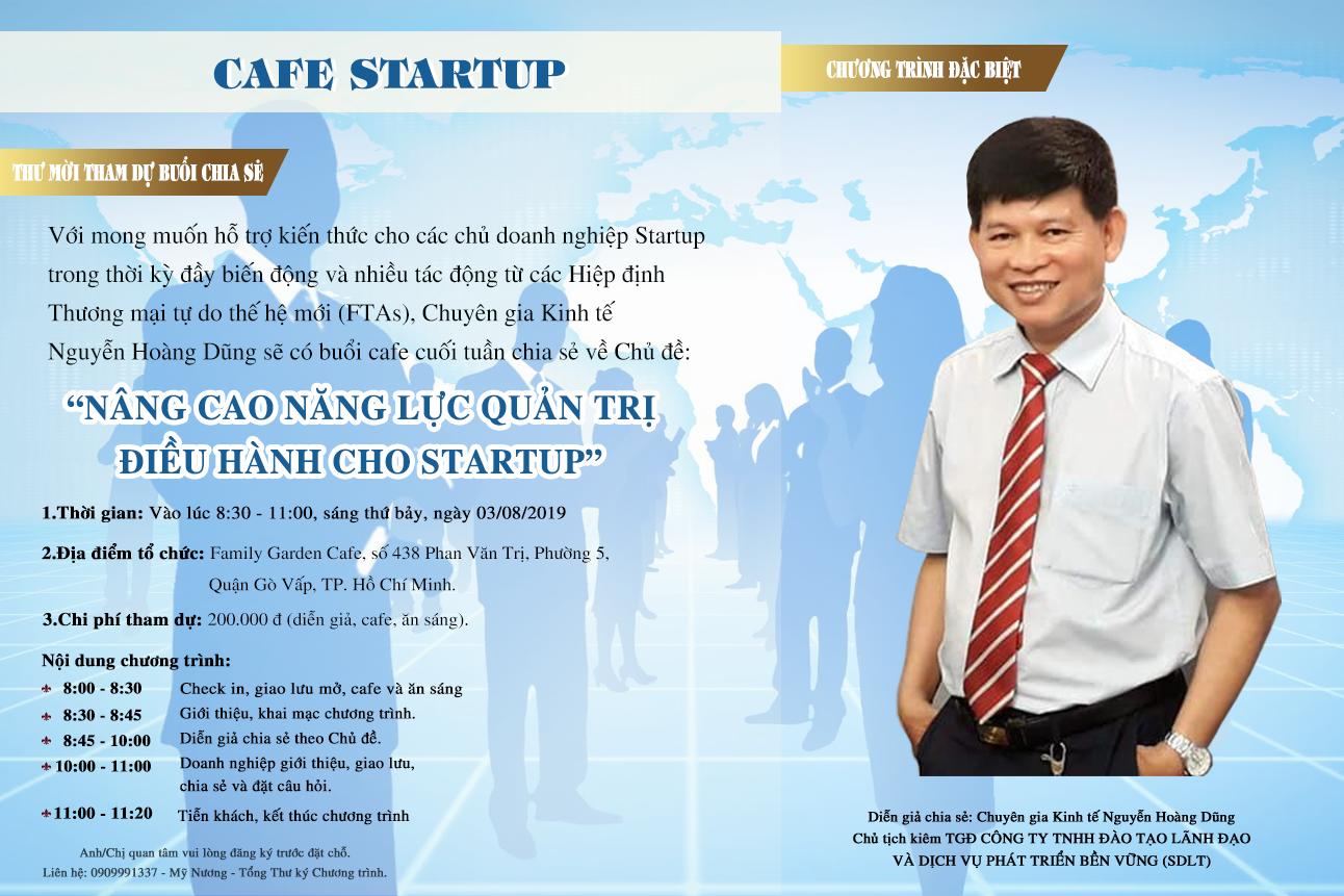 cafe startup 3-8-2019