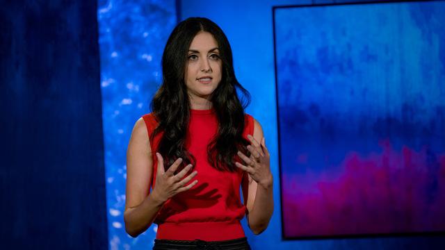 Natalie Fratto chia sẻ trên diễn đàn TED Talk về chủ đề AQ